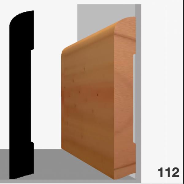Moldura pino 112 (zócalo)