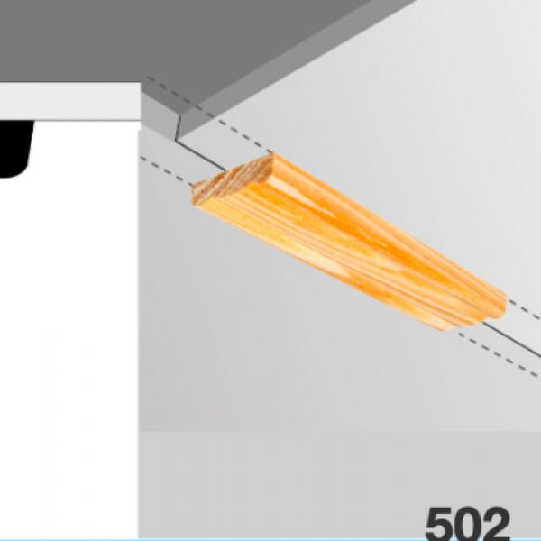 Moldura pino 502 (tapajunta)