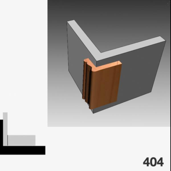 Moldura pino 404 (esquinero)